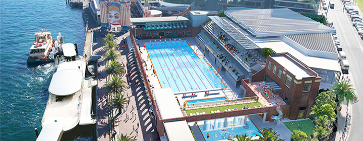 North Sydney Olympic Pool Stage 2 Design commencing...