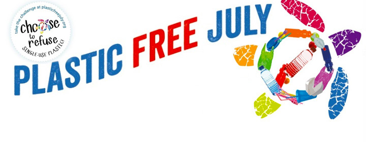Join plastic-free July now...
