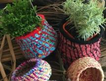 Coiled Basket making