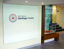 North Sydney Council - About the Heritage Centre